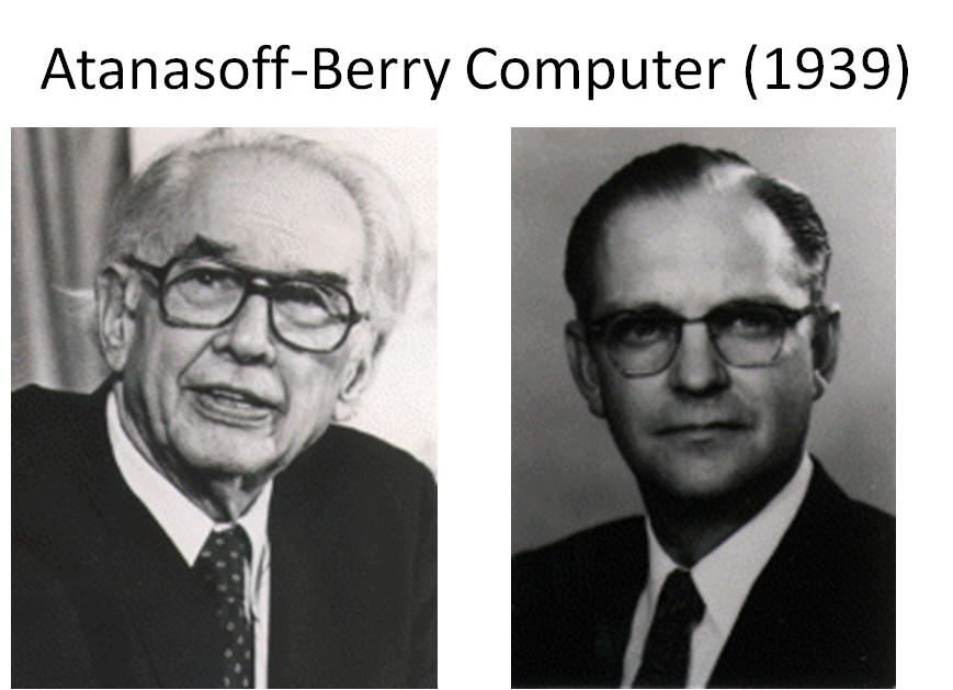 a look at the inventor of the electronic computer john vincent atanasoff He is the inventor of the electronic digital computer every aspect of our lives has changed because on the computer and its inventor, john vincent atanasoff.